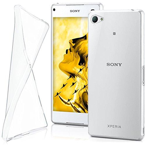 MoEx® Funda [Transparente] Compatible con Sony Xperia Z5 Compact   Ultrafina y Antideslizante - Transparent
