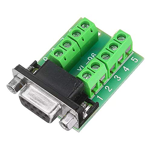Great Price! No branded Turn Terminal Serial Port Female Head RS232 Turn Terminal Serial Port Adapte...