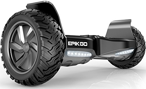 "EPIKGO Self Balancing Scooter Hover Self-Balance Board - UL2272 Certified, All-Terrain 8.5"" Alloy..."