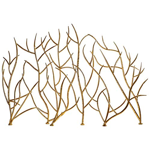 Uttermost Gold Branches Decorative Fireplace Screen (18796)