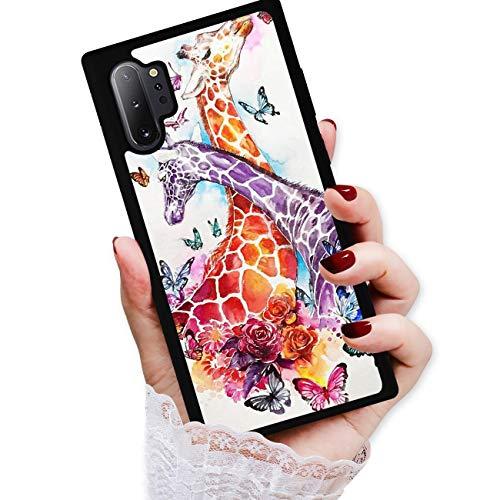 for Samsung Note 10+, Galaxy Note 10 Plus, Art Design Soft Back Case Phone Cover, HOT12437 Giraffe