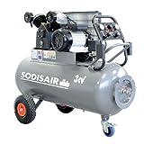 Compresseur professionnel en V sur roue 200 litres 230 Volts