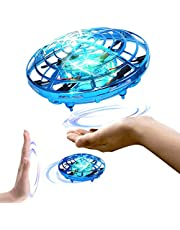 Toyshine UFO RC Flying Toy, Infrared Induction Flying Ball, Drone Light for Kids, Teenagers, Assorted Design and Color