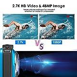 Zoom IMG-2 4yang fotocamera subacquea doppio schermo