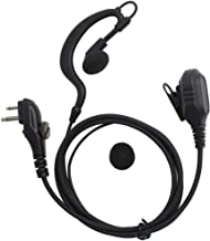 TENQ Earpiece Headset Hanging High Fidelity Noise Reduction PTT Compatible for for Hytera Walkie Talkie PD500 PD560 TD510 TD520 TC620