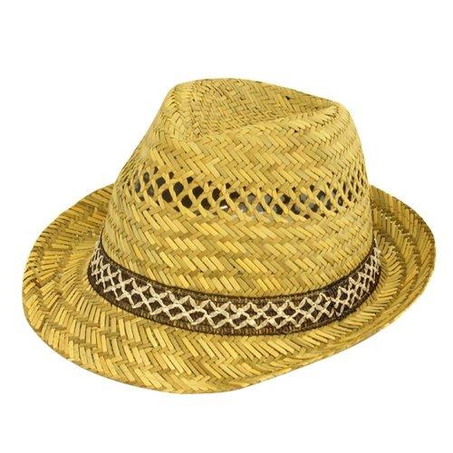 Chapeaux d'été TRILBY 100% paille. - Beige - taille unique