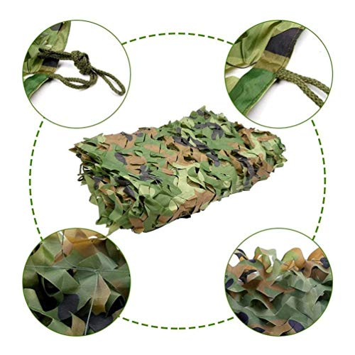 3 * 6m/10 * 19ft Camping Hunting Large Net Forest And Desert Camouflage Net Customization Sun-shade Net (Color : -, Size : 4x8m/13x26ft)