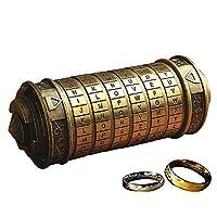 DIMENSIONE: 14 * 5.5 * 5.5 cm. Il Codice Da Vinci Mini Cryptex, è un regalo di Natale, regali per l'anniversario, un regalo per San Valentino, un regalo per la festa della mamma, pensa a regalare un regalo per il giorno, o semplicemente per ricordare...