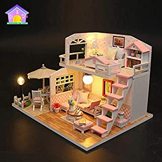 Surprise Toys For Girls Barbie House Doll House Lol House Miniature Kit with Furniture, Dolls House Accessories, Miniature...