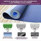 Zoom IMG-1 tappetino da yoga antiscivolo in