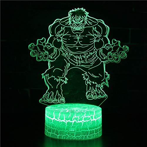 Erwachsene Kinder Cartoon Hero Serie 3D Muster Nachtlicht Led Tischlampe Schlafzimmer Nachttischlampe Geburtstag Weihnachtsgeschenk (Bild 40)