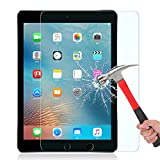 iPad Pro 9.7 Screen Protector,WONFAST [9H Hardness][Scratch-Resistant] [No-Bubble Installation] Tempered Glass Screen Protector for Apple iPad Air/iPad Air 2/iPad Pro 9.7' (Clear)