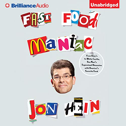 Fast Food Maniac audiobook cover art