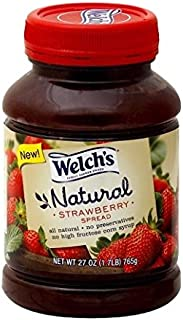 Welch's Natural Strawberry Spread, 27 oz