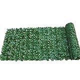styleinside Pantalla de privacidad de hojas de imitación para valla de hiedra artificial