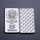 Rare 1 oz Sunshine Minting American Silver Bullion Silver Bar Collection Silver plated Souvenir Bar. NOT silver This souvenir bar is NOT for investment purposes Size:50mm*3 mm*2.8mm, Weight: 31 Grams Free shipping