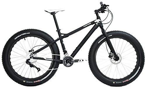 Fahrrad, Fatbike, 26 Zoll,Panther, schwarz
