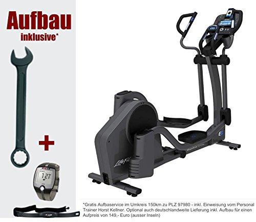 Life Fitness E5 Track Crosstrainer, inclusief Gratis FT1 Polar polshorloge, borstband en vloermat