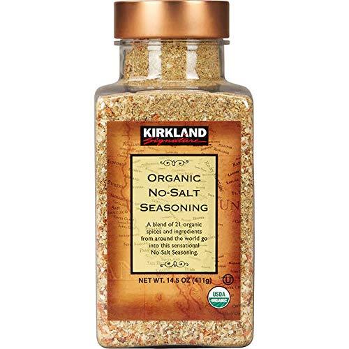 Kirkland Signature Organic No-Salt 21 Spice Blend Seasoning - 14.5 oz