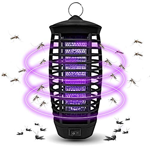 Wanqueen Fruit Fly Trap Mosquito Killer Lamp Insects Trap Gnat Killer for Indoor and Outdoor