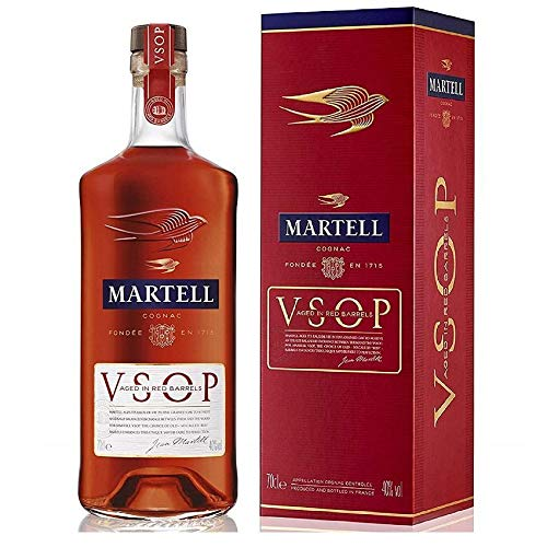 MARTELL COGNAC V.S.O.P. AGED IN RED BARRELS 70 CL IN ASTUCCIO