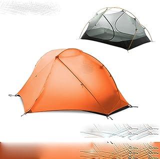 3F GEAR tält 15D silikon ultralätt campingtält 1 person dubbelt lager utomhus vandring 3-4 säsonger resetält med gratis matta