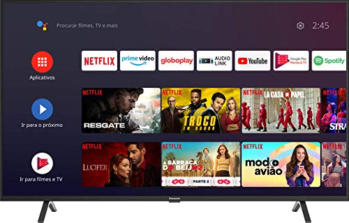 """Smart TV LED 55"""" 4K UHD Panasonic TC-55HX550B, HDR10+, Sistema Android, Bivolt"""