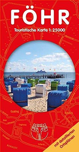 Föhr - Touristische Karte: Insel Erlebniskarte 1:25.000