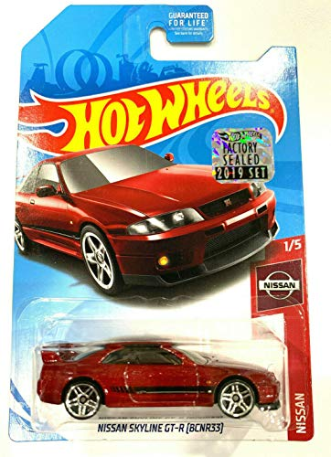DieCast Hotwheels [Nissan Skyline GT-R BCNR33] red 6/250 - 2019 Factory Sealed
