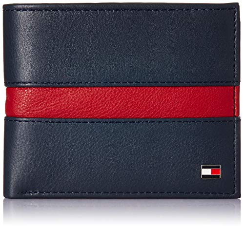 Tommy Hilfiger Navy/Red Men's Wallet (TH/PIHOMCCW0804/SCP2018)