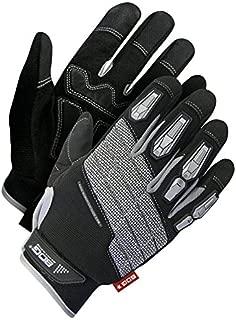 Bob Dale Gloves 20110680XL Mechanics Glove Synthetic Leather Anti-Vib Hd Impact,