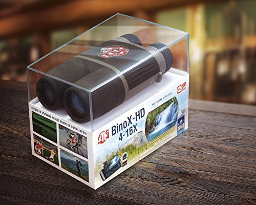 ATN BinoX 4x16 Smart Binocular with 1080p Video,GPS,Image Stabilization,IOS and Android Apps