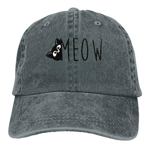 Preisvergleich Produktbild Wfispiy Katze Meow 2019 Caps Baseball Cap Sport Mütze