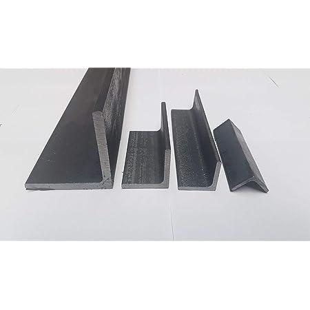 Oberfl/äche blank Stahl ST37 gewalzt roh S235 Winkel ungleichschenklig Winkelprofil L/änge 100 cm L-Profil Abmessung 50 x 30 x 5 mm