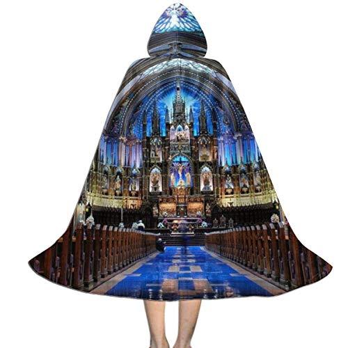 Disfraz De Bruja Aura Notre Dame Disfraz De Fiesta Impresin HD Disfraz De Halloween Encapuchado Navidad Fiesta Disfraces para Adultos Fiesta 150X40Cm