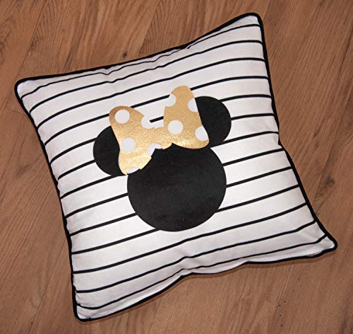 Herding Disney`s Minnie Mouse Dekokissen, Polyester, Mehrfarbig, 40 x 40 cm