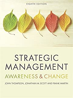 strategic management awareness and change