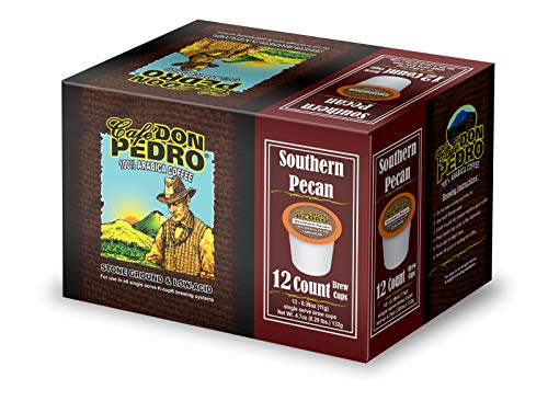 Cafe Don Pedro -72 ct Southern Pecan Low-Acid Arabica Coffee Pods