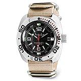 VOSTOK | Classic Amphibian Automatic Self-Winding Russian Military Diver Wrist Watch | WR 200 m |...