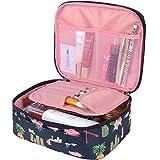 MKPCW Travel Makeup bags Cosmetic Case Organizer Portable Storage Bag Cosmetics...