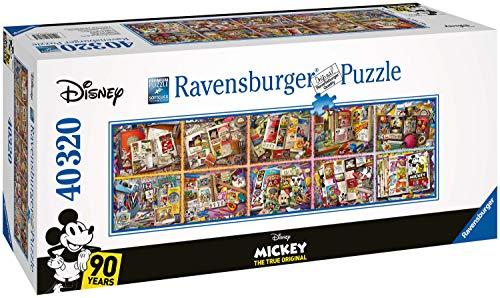 Ravensburger 17828 Mickeys 90. Geburtstag 40.000 Teile Puzzle, Mehrfarbig