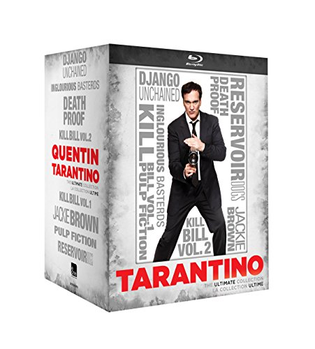 Quentin Tarantino - The Ultimate Collection : Inglourious Basterds / Reservoir Dogs / Death Proof / Pulp Fiction / Jackie Brown / Kill Bill : Volume 1 / Kill Bill : Volume 2 / Django Unchained