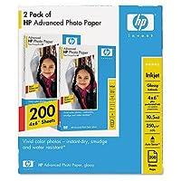 HP Q8744A 4X6.5 ADVANCED PHOTO PAPER GLO by HP [並行輸入品]