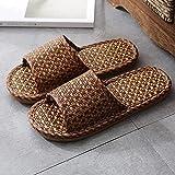 WUHUI Zapatillas para Ducha, Pantuflas Antideslizantes de Suela Gruesa para Mujer, Negro_38-39, Zapatillas de Mujer Son...