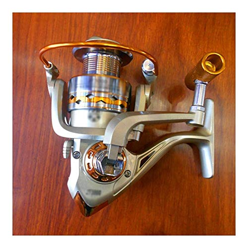 KDXBCAYKI 13-assige metalen hoofd vissen haspel spinnen wiel vissen haspel vissen Gear