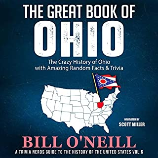 The Great Book of Ohio: The Crazy History of Ohio with Amazing Random Facts & Trivia  audiobook cover art