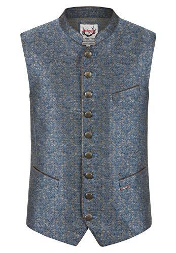 Stockerpoint Herren Spencer Business-Anzug Weste, blau, 48