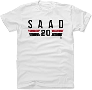 500 LEVEL Brandon Saad Shirt - Chicago Hockey Men's Apparel - Brandon Saad Chicago Font