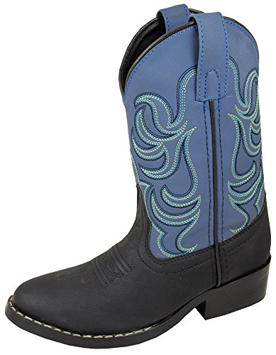 Western Chief Boy's Waterproof Printed Rain Boot, Shark Chomp, 7-8 Toddler