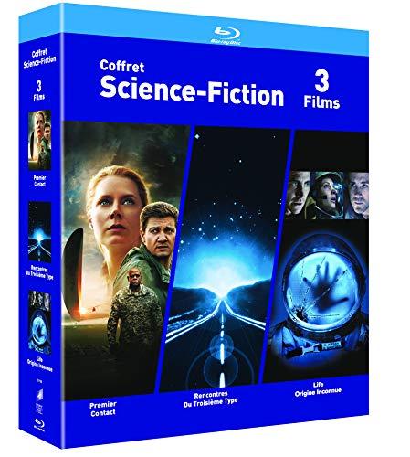 COFFRET SCIENCE-FICTION Blu-ray - Premier Contact / Rencontres du 3e Type /...